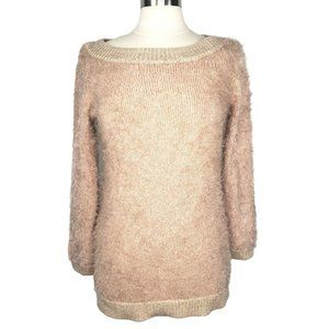 Bebe Fluffy Super Soft Mauve Sweater